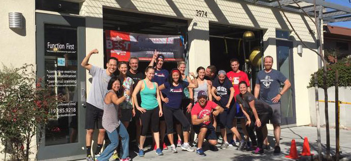 Core-Tex reactive training at Function First in San Diego